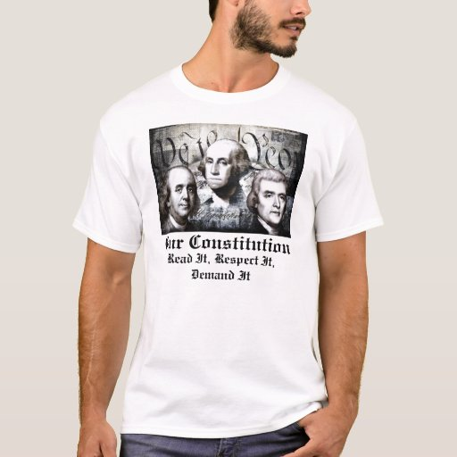 AMERICAN FOUNDING FATHERS CONSTITUTION T-Shirt