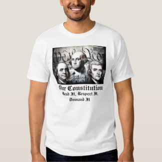 AMERICAN FOUNDING FATHERS CONSTITUTION T SHIRTS