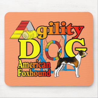 American Foxhound Agility Gifts Mouse Pad