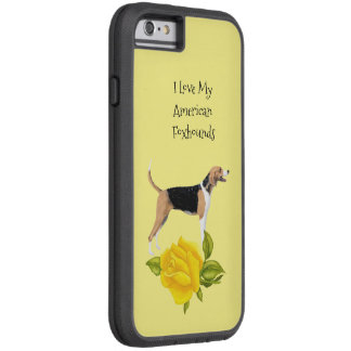 American Foxhound and Yellow Roses Tough Xtreme iPhone 6 Case