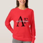 American Foxhound Breed Monogram T-Shirt
