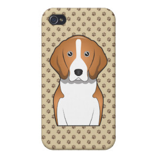 American Foxhound Cartoon iPhone 4/4S Cover