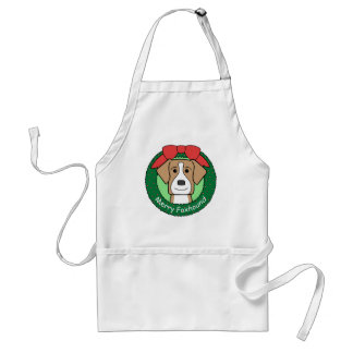 American Foxhound Christmas Adult Apron