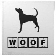 American Foxhound Cloth Napkin