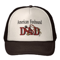 American Foxhound Dad Gifts Hat