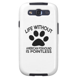 AMERICAN FOXHOUND DESIGNS SAMSUNG GALAXY S3 COVERS