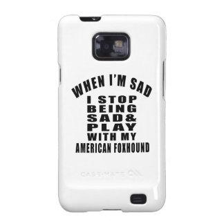 AMERICAN FOXHOUND Designs Samsung Galaxy SII Cover