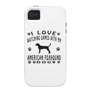 American Foxhound designs Vibe iPhone 4 Case