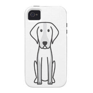 American Foxhound Dog Cartoon iPhone 4/4S Case