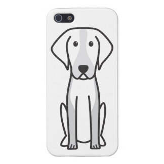 American Foxhound Dog Cartoon Cover For iPhone SE/5/5s