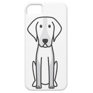 American Foxhound Dog Cartoon iPhone SE/5/5s Case