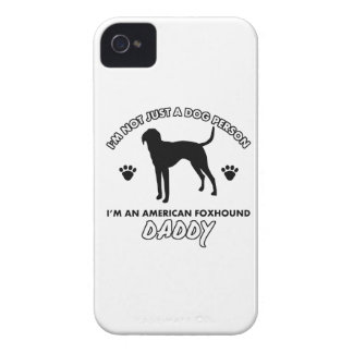 American foxhound  Dog Daddy iPhone 4 Cases
