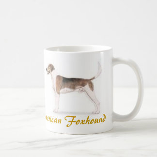 American Foxhound, Dog Lover Galore! Classic White Coffee Mug