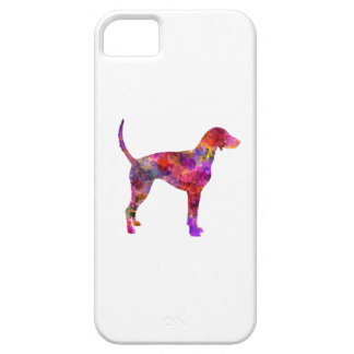 American Foxhound in watercolor 2 iPhone SE/5/5s Case