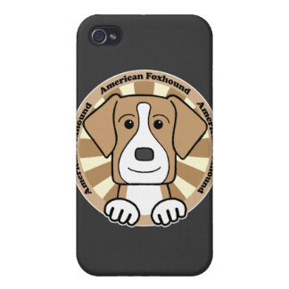 American Foxhound Cover For iPhone 4