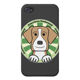 American Foxhound Covers For iPhone 4