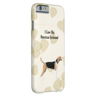 American Foxhound on Tan Leaves Barely There iPhone 6 Case