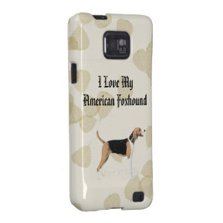 American Foxhound on Tan Leaves Galaxy S2 Cover