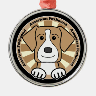 American Foxhound Christmas Ornaments