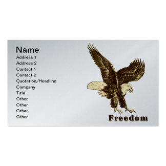 American Freedom Eagle July 4, 1776 Business Card