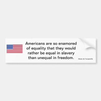 American Freedom Statement Bumper Stickers