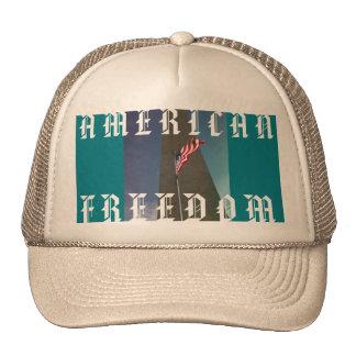 AMERICAN FREEDOM TRUCKER HAT