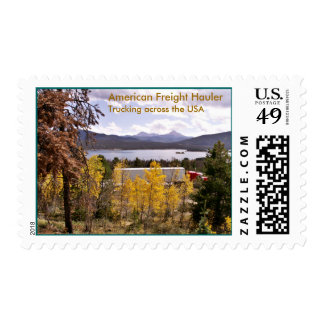 American Freight Hauler ...  Postage Stamps