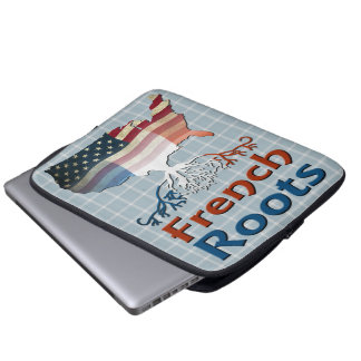 American French Roots Laptop Cover