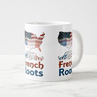 American French Roots Jumbo Mugs