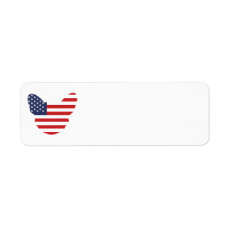 American Frenchie Custom Return Address Labels
