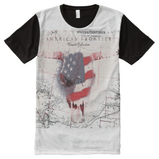 american frontier All-Over-Print shirt