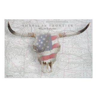 American Frontier Poster