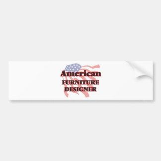 American Furniture Designer Car Bumper Sticker