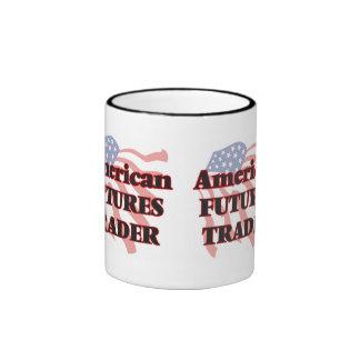 American Futures Trader Ringer Coffee Mug