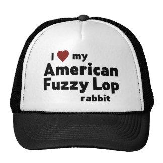 American Fuzzy Lop rabbit Trucker Hat