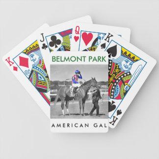 American Gal Flavien Prat. Bicycle Playing Cards