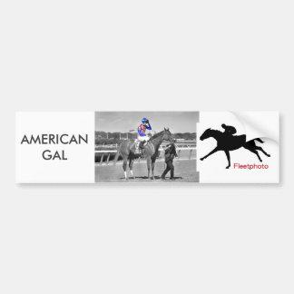 American Gal Flavien Prat. Bumper Sticker