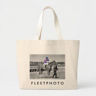 American Gal Flavien Prat. Large Tote Bag