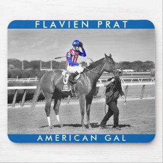 American Gal Flavien Prat. Mouse Pad