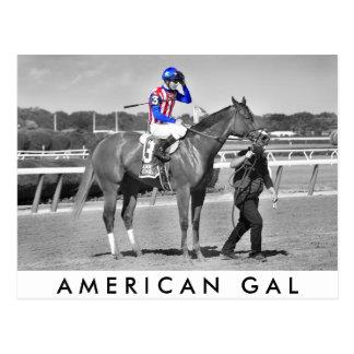 American Gal Flavien Prat. Postcard