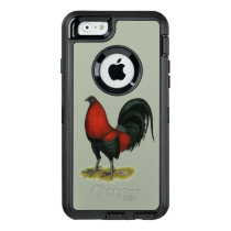 American Game BB Black Red Rooster OtterBox Defender iPhone Case