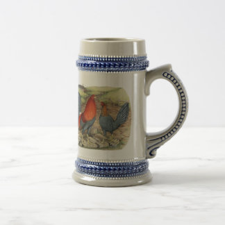American Game Blue Reds Beer Stein
