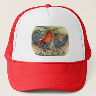 American Game Blue Reds Trucker Hat