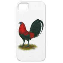 American Gamecock:  Brown Red iPhone SE/5/5s Case