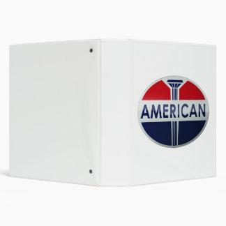 American Gas Station sign. Crystal version Binder