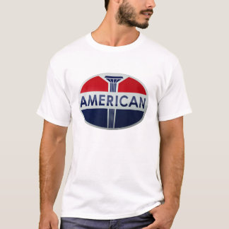 American Gas Station vintage sign crystal version T-Shirt