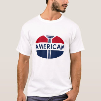 American Gas Station vintage sign flat version. T-Shirt