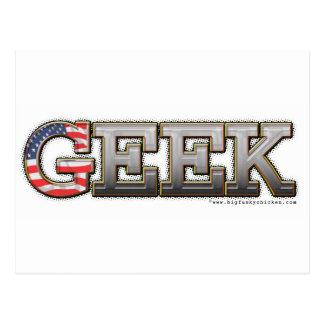 American Geek Postcard