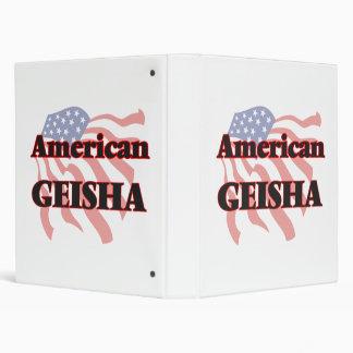 American Geisha Binder