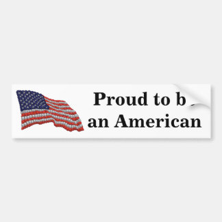 American Gem Bumper Sticker